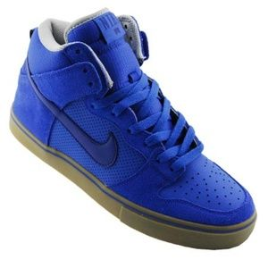 NIKE ☀ Dunk High LR Shoes Sneakers Blue Skate NEW
